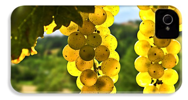 Yellow Grapes IPhone 4 / 4s Case by Elena Elisseeva