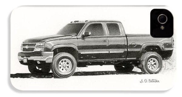 2006 Chevy Silverado 2500 Hd IPhone 4 / 4s Case by Sarah Batalka