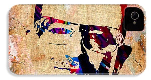 Bono U2 IPhone 4 / 4s Case by Marvin Blaine