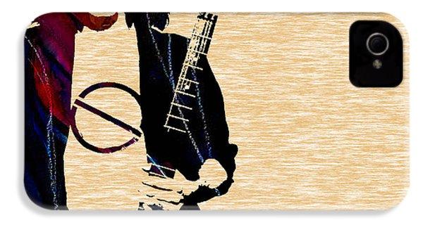 Eddie Van Halen Collection IPhone 4 / 4s Case by Marvin Blaine
