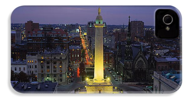 High Angle View Of A Monument IPhone 4 / 4s Case by Panoramic Images