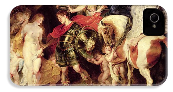 Perseus Liberating Andromeda IPhone 4 / 4s Case by Peter Paul Rubens