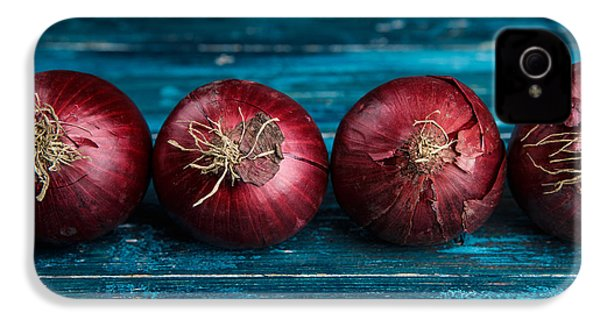 Red Onions IPhone 4 / 4s Case by Nailia Schwarz