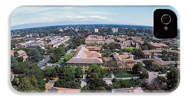 Aerial View Of Stanford University IPhone 4 / 4s Case by Panoramic Images