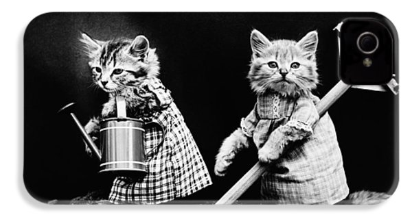 Frees Kittens, C1914 IPhone 4 / 4s Case by Granger
