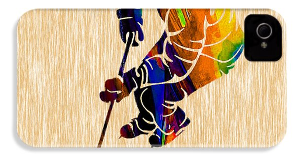 Hockey IPhone 4 / 4s Case by Marvin Blaine