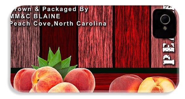 Peach Farm IPhone 4 / 4s Case by Marvin Blaine