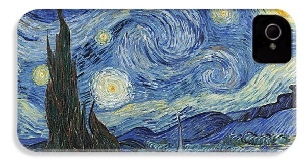 The Starry Night IPhone 4 / 4s Case by Vincent Van Gogh