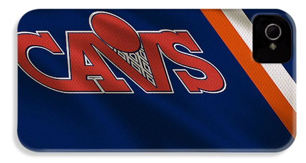 Cleveland Cavaliers Uniform IPhone 4 / 4s Case by Joe Hamilton