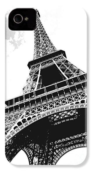 Eiffel Tower IPhone 4 / 4s Case by Elena Elisseeva