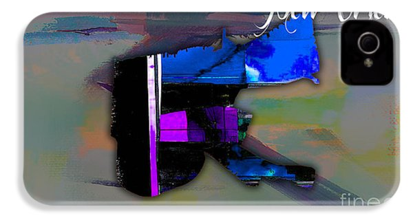 New Orleans Map Watercolor IPhone 4 / 4s Case by Marvin Blaine