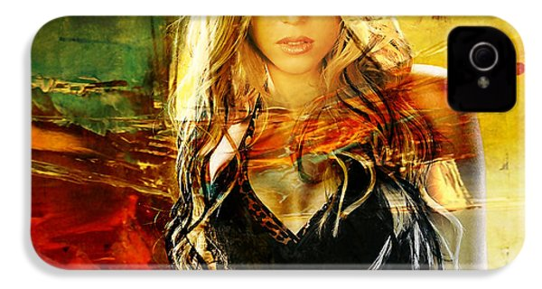 Shakira IPhone 4 / 4s Case by Marvin Blaine