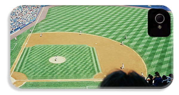 High Angle View Of Spectators Watching IPhone 4 / 4s Case by Panoramic Images