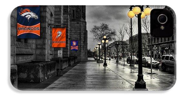 Denver Broncos IPhone 4 / 4s Case by Joe Hamilton
