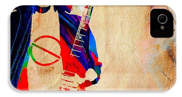 Eddie Van Halen IPhone 4 / 4s Case by Marvin Blaine