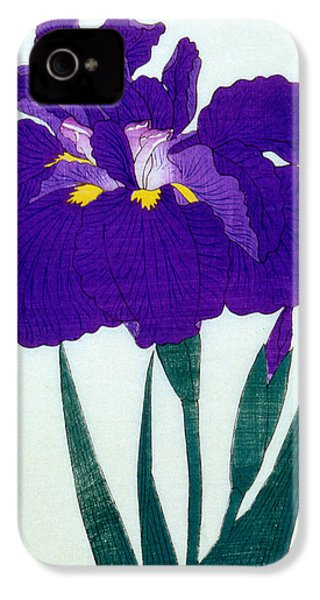 Japanese Flower  IPhone 4 / 4s Case by Japanese School