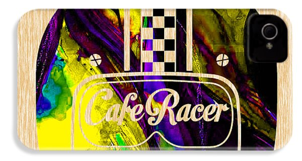 Cafe Racer IPhone 4 / 4s Case by Marvin Blaine
