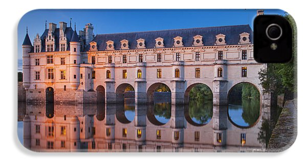 Chateau Chenonceau IPhone 4 / 4s Case by Brian Jannsen