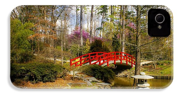 A Bridge To Spring IPhone 4 / 4s Case by Benanne Stiens