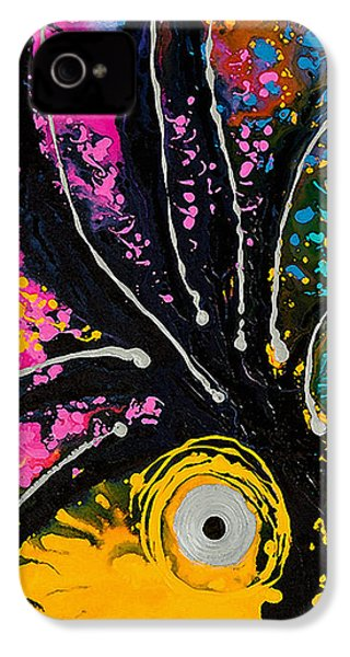 A Rare Bird - Tropical Parrot Art By Sharon Cummings IPhone 4 / 4s Case by Sharon Cummings