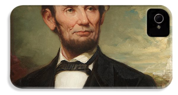 Abraham Lincoln  IPhone 4 / 4s Case by George Henry Story