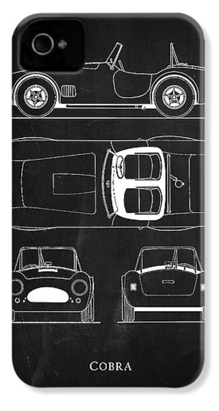 Ac Cobra IPhone 4 / 4s Case by Mark Rogan