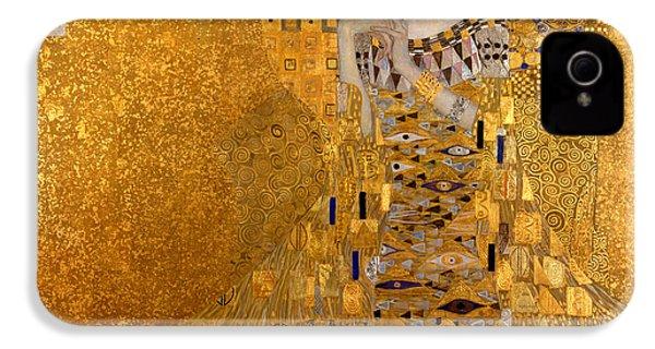 Adele Bloch Bauers Portrait IPhone 4 / 4s Case by Gustive Klimt