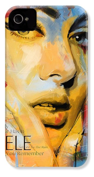 Adele IPhone 4 / 4s Case by Corporate Art Task Force