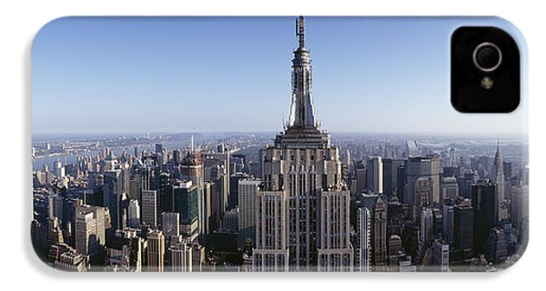 Aerial View Of A Cityscape, Empire IPhone 4 / 4s Case by Panoramic Images