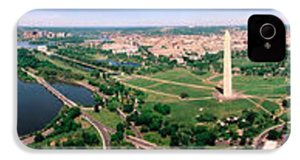 Aerial Washington Dc Usa IPhone 4 / 4s Case by Panoramic Images