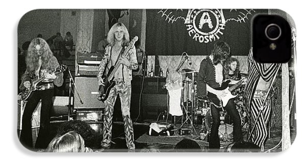 Aerosmith - Aerosmith Tour 1973 IPhone 4 / 4s Case by Epic Rights