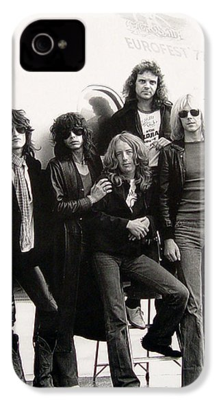 Aerosmith - Eurofest Jet 1977 IPhone 4 / 4s Case by Epic Rights