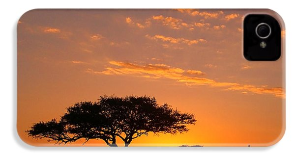 African Sunset IPhone 4 / 4s Case by Sebastian Musial