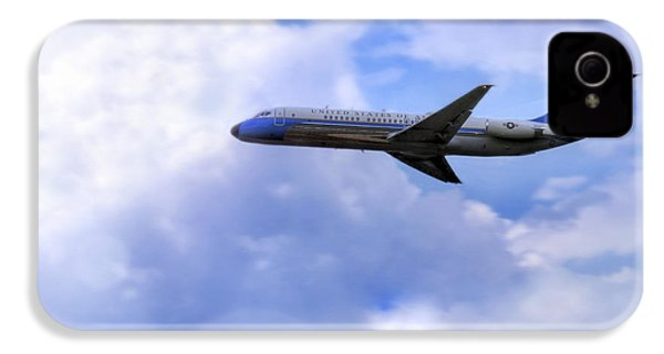 Air Force One - Mcdonnell Douglas - Dc-9 IPhone 4 / 4s Case by Jason Politte