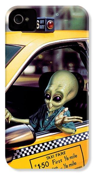 Alien Cab IPhone 4 / 4s Case by Steve Read