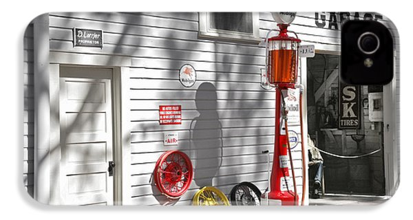 An Old Village Gas Station IPhone 4 / 4s Case by Mal Bray