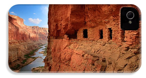 Anasazi Granaries IPhone 4 / 4s Case by Inge Johnsson
