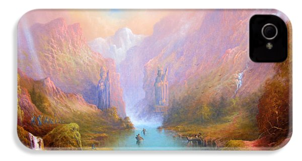 Anduin The Great River IPhone 4 / 4s Case by Joe  Gilronan