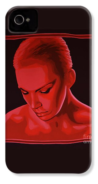 Annie Lennox IPhone 4 / 4s Case by Paul Meijering