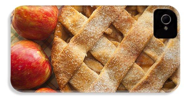 Apple Pie With Lattice Crust IPhone 4 / 4s Case by Diane Diederich