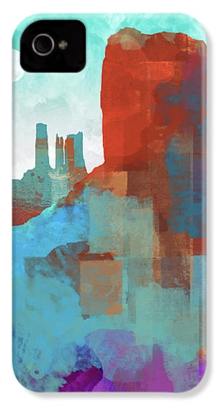 Arizona Monument IPhone 4 / 4s Case by Dan Meneely