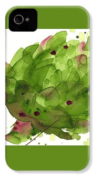 Artichoke II IPhone 4 / 4s Case by Dawn Derman