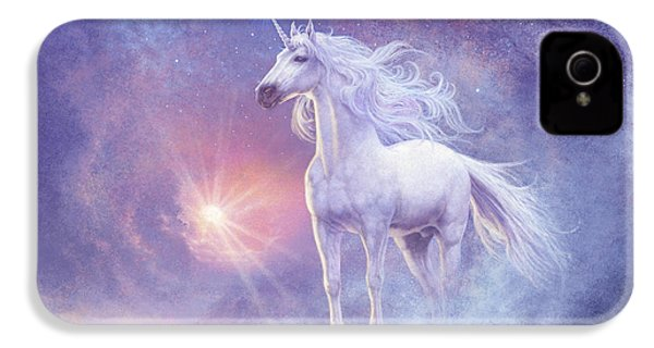 Astral Unicorn IPhone 4 / 4s Case by Steve Read