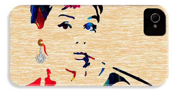 Audrey Helburn Collection IPhone 4 / 4s Case by Marvin Blaine