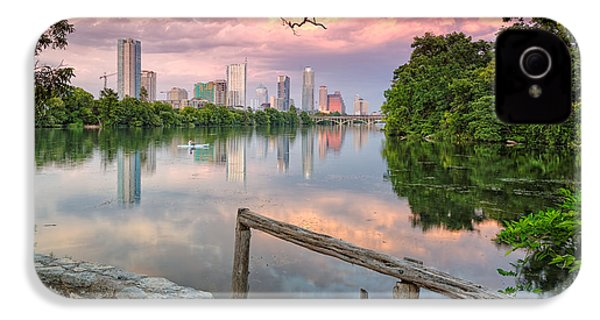 Austin Skyline From Lou Neff Point IPhone 4 / 4s Case by Silvio Ligutti