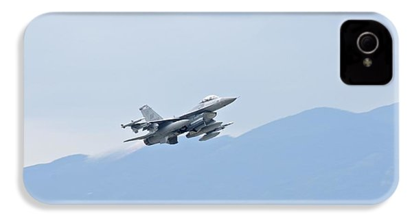 Aviano F16 IPhone 4 / 4s Case by Staff Sgt Jessica Hines
