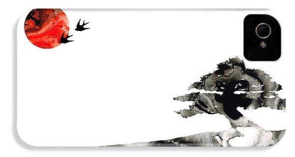 Awakening - Zen Landscape Art IPhone 4 / 4s Case by Sharon Cummings