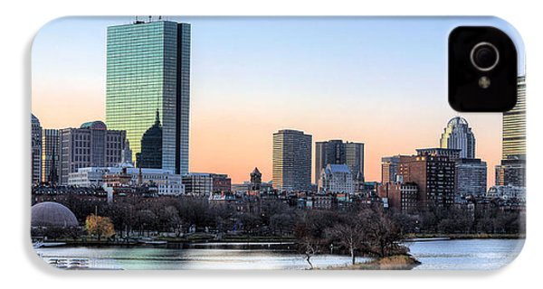 Back Bay Sunrise IPhone 4 / 4s Case by JC Findley