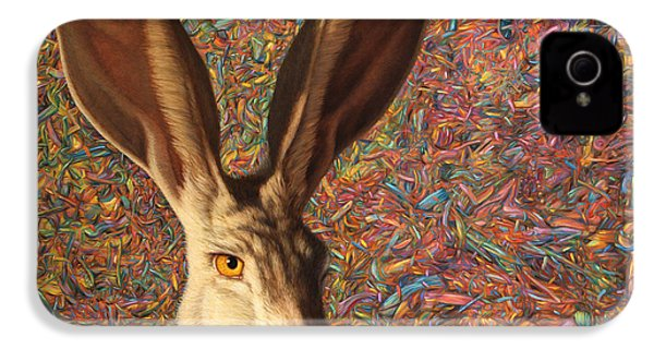 Background Noise IPhone 4 / 4s Case by James W Johnson