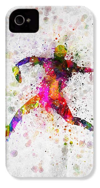 Baseball Player - Pitcher IPhone 4 / 4s Case by Aged Pixel
